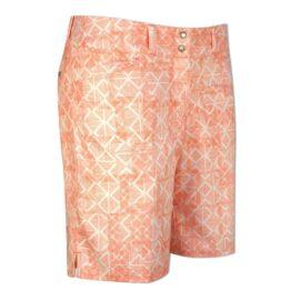 Adidas 7-Inch Printed Shorts orange Kraťasy damské