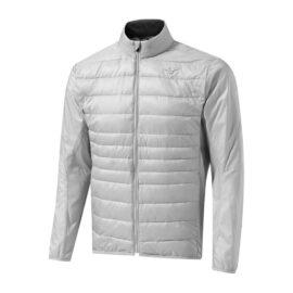 Pánská golfová bunda Mizuno Move Tech Jacket vapor silver Panské