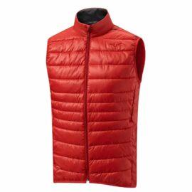 Golfová vesta Mizuno Move Tech Gilet red Funkční prádlo
