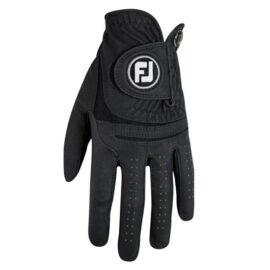 FootJoy WeatherSof black pánská golfová rukavice Klasické