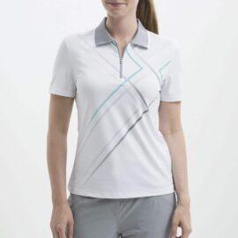 Nivo Violet white Damské trička na golf