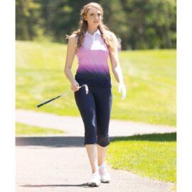 Nivo Allyson Ladies Polo white Damské trička na golf