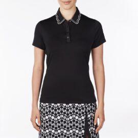 Nivo Wendy Ladies Polo black Damské trička na golf