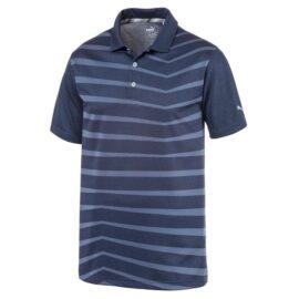 Puma Alterknit Prismatic Polo pale pink Panské trička na golf
