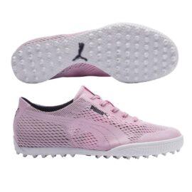 Puma Monolite Cat Woven Ladies grey Dámské boty na golf