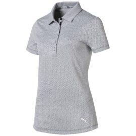 Puma Swift Women Polo caribbean sea/bright white Damské trička na golf