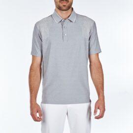 Sligo Lenny Polo light grey Panské trička na golf