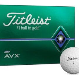 Titleist AVX 12pack golfové míčky Nové míčky