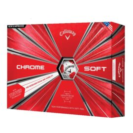 Callaway Chrome Soft TRUVIS 12pack golfové míčky Nové míčky