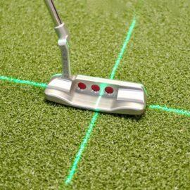 EyeLine Groove+ Putting Laser tréninková golfová pomůcka Tréninkové hole