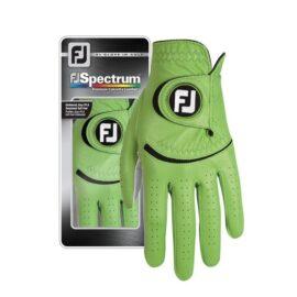 Footjoy Spectrum lime barevné golfové rukavice Klasické