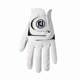 FootJoy WeatherSof white pánská golfová rukavice Klasické