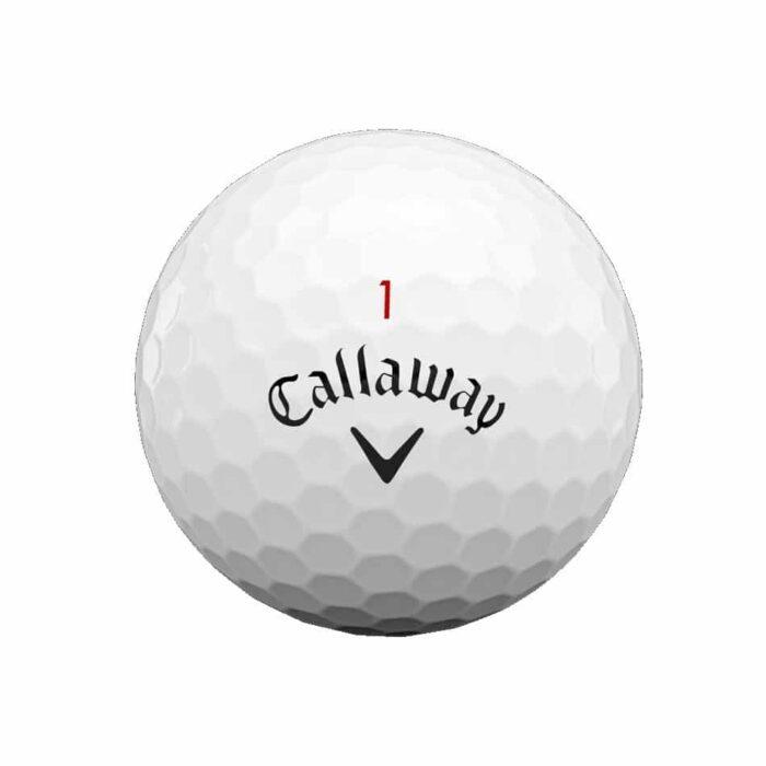 Callaway Chrome Soft 12-pack golfové míčky Nové míčky