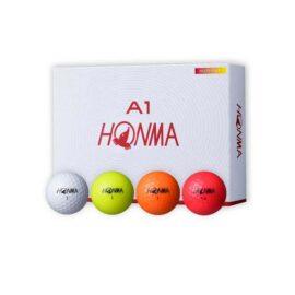 Honma A1 MULTICOLOR 12-pack golfové míčky Nové míčky