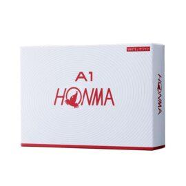 Honma A1 12-pack white golfové míčky Nové míčky