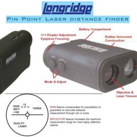 Longridge Pin Point Laser Distance Finder Dálkoměry