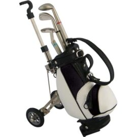 Mini Golf Cart With Three Ballpoint Pens Golfové dárky