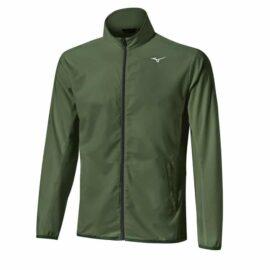 Mizuno Move Tech Lite Jacket khaki Bundy do větru