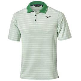 Mizuno Quick Dry Boarder Polo green Panské trička na golf