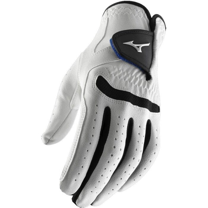 Mizuno Comp white/black pánská golfová rukavice Klasické