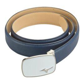 Mizuno Logo Leather Belt Golfové opasky