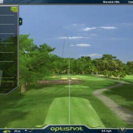 OptiShot 2 golfový simulátor Trenažéry