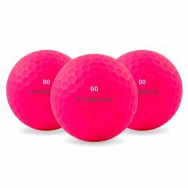 Prisma Fluoro 12pack barevné golfové míčky Nové míčky