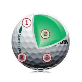 Srixon Soft Feel 12-pack Nové míčky
