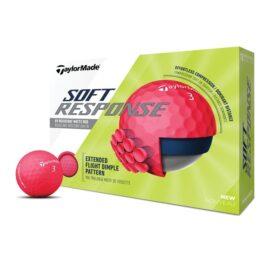 Taylor Made Soft Response red 12-pack golfové míčky Nové míčky