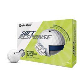 Taylor Made Soft Response white 12-pack golfové míčky Nové míčky