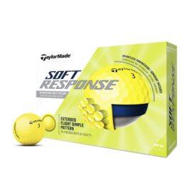 Taylor Made Soft Response yellow 12pack golfové míčky Nové míčky