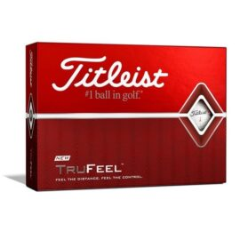 Titleist TruFeel white 12pack golfové míčky Nové míčky