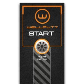 WellPutt Mat Start Matt 3m Domácí golfové tréninkové studio