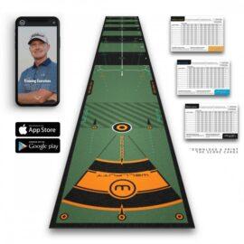 Well-Putt Mat 4m patovací koberec Domácí golfové tréninkové studio