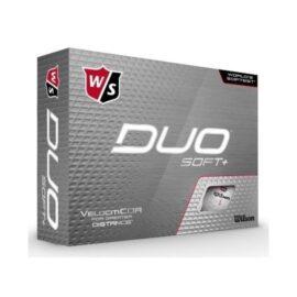 Wilson Staff DUO Soft+ 12-pack golfové míčky Nové míčky