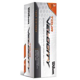 Wilson Tour Velocity Distance 15-pack golfové míčky Nové míčky
