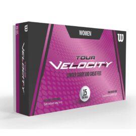Wilson Tour Velocity Women 15-pack dámské golfové míčky Nové míčky