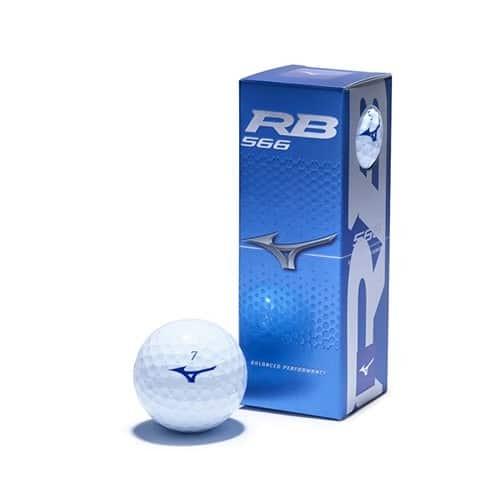 Mizuno RB566 white 12-pack golfové míčky Dárky pro juniory