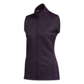 Dámská golfová vesta Adidas COLD.RDY Ladies purple Oblečení