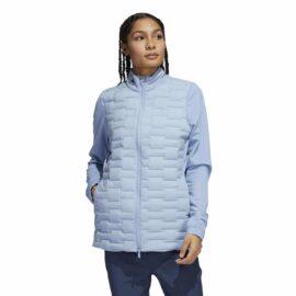 adidas frosguard ladies jacket blue sky golfova bunda 2