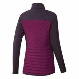 Dámská golfová bunda Adidas Frostguard Ladies burgundy Oblečení
