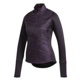 Adidas Hybrid Quilted Ladies Jacket purple Bundy
