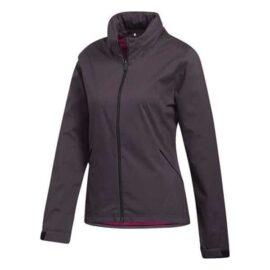 Dámská golfová bunda Adidas Rain.RDY Ladies purple Oblečení