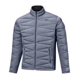 Golfová pánská bunda Mizuno Tech Fill Jacket navy Oblečení
