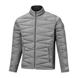 Golfová pánská bunda Mizuno Tech Fill Jacket silver Oblečení