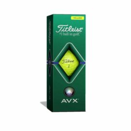 Titleist AVX yellow 12pack golfové míčky Nové míčky