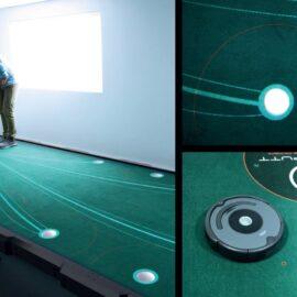 Big Tilt Platform umělá platforma s nastavením sklonu – tréninkový systém pro puttování Domácí golfové tréninkové studio