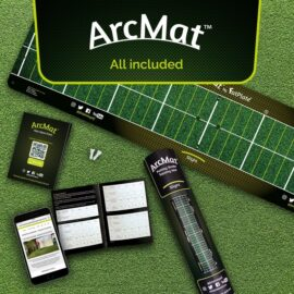 FatPlate ArcMat patovaci podložka Domácí golfové tréninkové studio