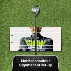 FatPlate MirrorPlate tréninková pomůcka Domácí golfové tréninkové studio