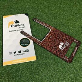 FatPlate Sand Tréninková pomůcka na golf Domácí golfové tréninkové studio